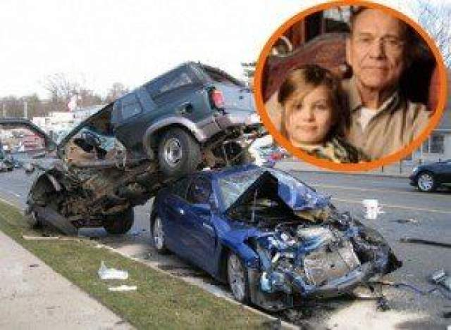 Когда он успел его получить - СМИ не сообщают. Скорее всего, в 2013 году, когда он вместе с дочерью Марией попал в аварию, после которой девочка вот уже шесть лет находится в коме.