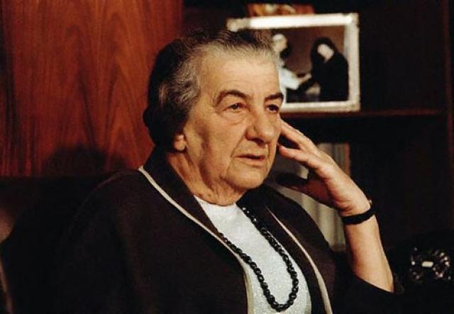"""Голда Меир : """"Моисей 40 лет водил нас по пустыне ,чтобы привести в единственное место на Ближнем Востоке, где нет нефти..."""""""
