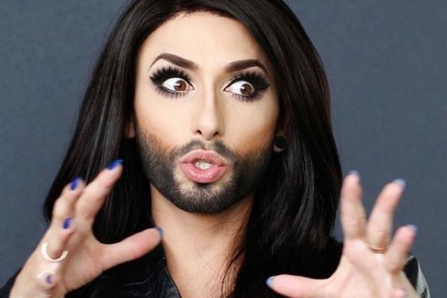 Кончита Вурст. Наверняка всем известна бородатая звезда Евровидения.