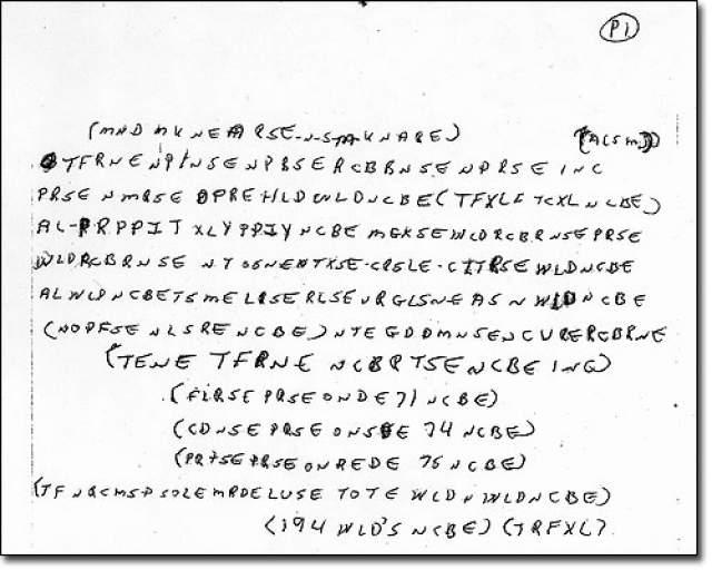 Опрошенные полицией знакомые Рикки разнятся в показаниях. Одни говорят, что вершиной его письма было выведение букв собственного имени, другие говорят, что он увлекался шифрованием едва ли не с юности. Публикация записок в прессе также не принесла результатов.