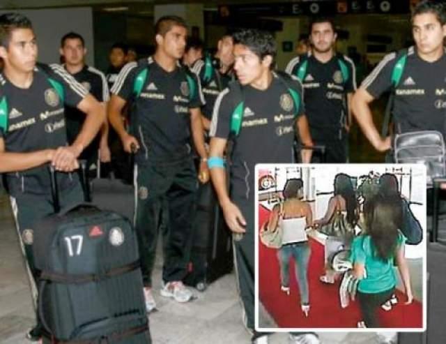 Впоследствии футболисты были ограблены на 150 тысяч песо.