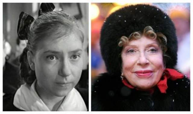 """Инна Чурикова впервые появилась на экране в фильме """"Тучи над Борском"""" в 1960 году."""
