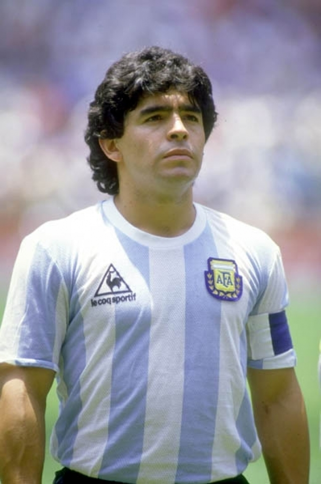 Диего Марадона. Легенда футбола, несмотря на вредные привычки всегда был в прекрасной форме.