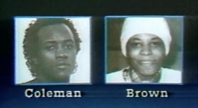 Дебра Браун и Элтон Коулман. Летом 1984 года 28-летний Коулман и 21-летняя Браун начали совершать убийства в нескольких штатах. Пара убила по меньшей мере семь человек, а жертвами нападения стали 20. Большинство жертв были афроамериканцами.