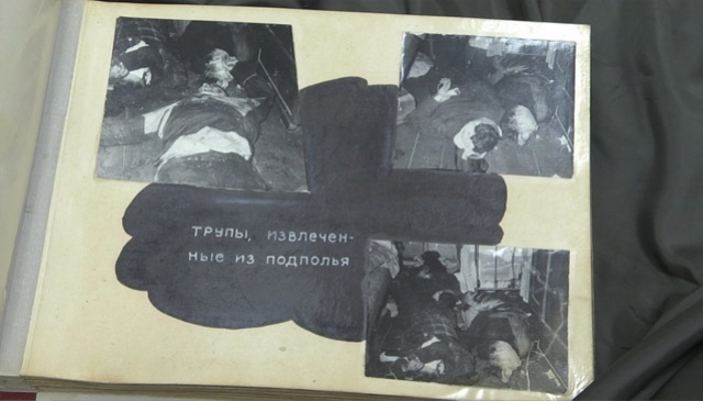 После разбора пепелища выяснилось, что подпол дома забит человеческими трупами. На место незамедлительно была вызвана милиция.