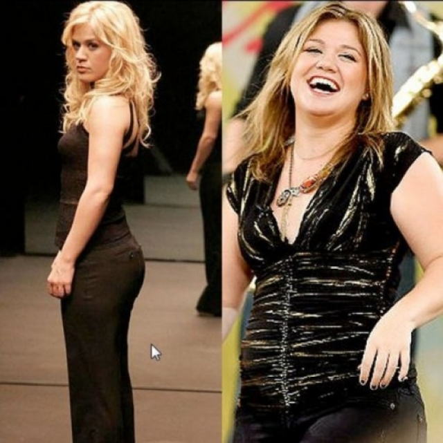 Келли Кларксон стала известна после победы на конкурсе American Idol.