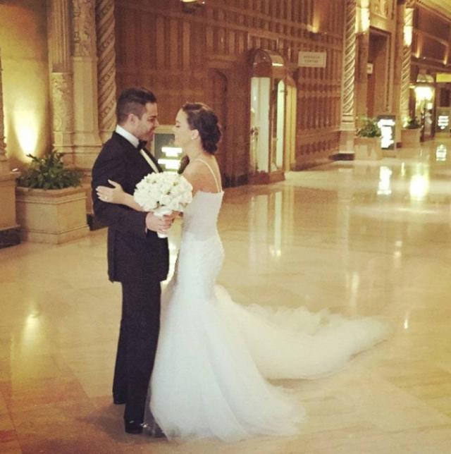 "Звезды шоу ""Shahs of Sunset"" Джессика Паридо и Майкл Шухед поженились в марте, но уже развелись в августе."