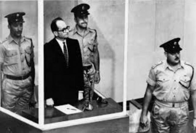 """В Иерусалиме Эйхман был передан полиции. На заседании Кнессета 22 мая премьер-министр Израиля Давид Бен-Гурион объявил, что """"Адольф Эйхман находится в Израиле и в скором времени будет отдан под суд""""."""