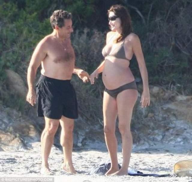 Однако подобные темные пятна на биографии Карлы нисколько не смутили Саркози. В 2008 году влюбленные связали себя узами брака, а уже в 2011 году третья супруга родила ему дочь Джулию.