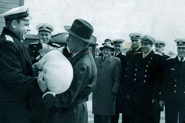 14 сентября 1945 года вышел приказ № 01979 наркома ВМФ Н. Г. Кузнецова об отстранения Маринеско Александра Ивановича от занимаемой должности и понижении в воинском звании до старшего лейтенанта.