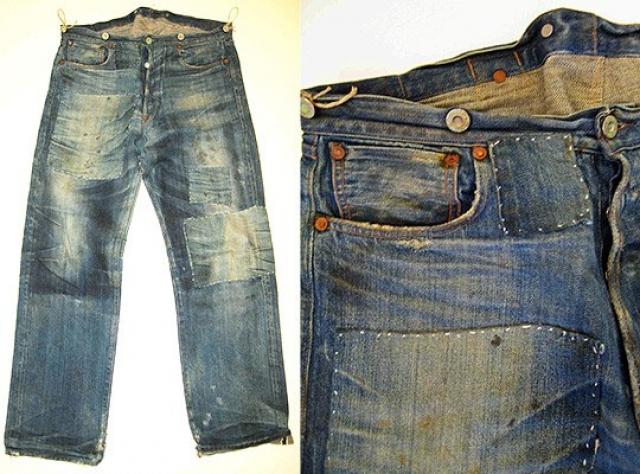 Самая дорогая пара джинсов стоит 60 000 долларов - это оригинальные 501 Levi Strauss & Co, 1951 года выпуска.