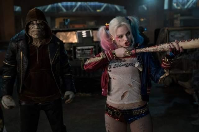 """В """"Отряде самоубийц"""" Квинн и еще несколько преступников берут на себя роль супергероев и спасают человечество."""