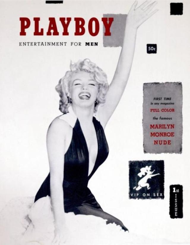 В разные годы для журнала позировали такие обнаженные красавицы как Мэрилин Монро, Элизабет Тейлор, Синди Кроуфорд, Памела Андерсон и другие известные женщины. На фото:Marilyn Monroe, 1953