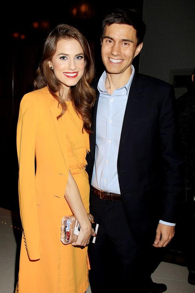 Эллисон Вилльямс и предприниматель Рики Ван Веен поженили в сентябре.