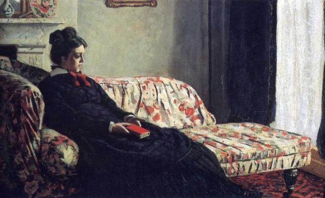 Камилла родила Моне двух сыновей: Жана — в 1867 г. и Мишеля — в 1878 г. Рождение второго ребёнка ослабило уже и без того хрупкое здоровье Камиллы, и вскоре после этого она умерла. Моне написал её посмертный портрет.