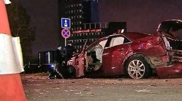 """9 октября 2012 года актриса на такси возвращалась со спектакля со зловещим названием """"Смертельный двигатель"""", когда в машину на огромной скорости врезался Cadillac, проехавший перекресток на красный сигнал светофора."""