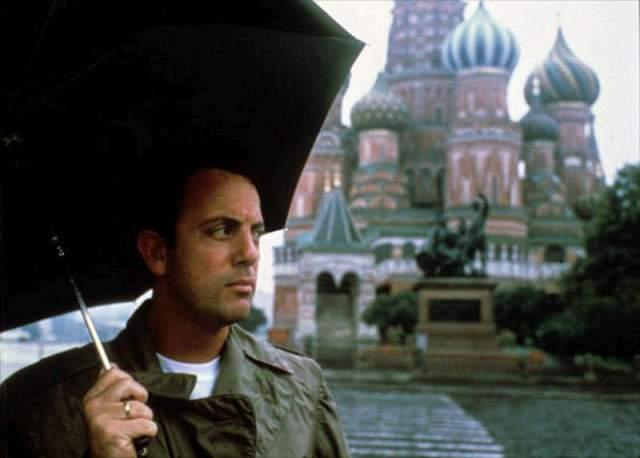 1987 год, Билли Джоэл, американский автор-исполнитель песен и гитарист, с первым рок-н-ролл шоу побывал в Советском Союзе.