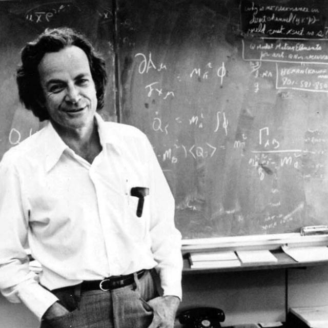 Ричард Фейнман. Выдающийся американский физик был весьма осторожен в экспериментах с употреблением веществ, поскольку опасался, что они способны повредить ему мозг.