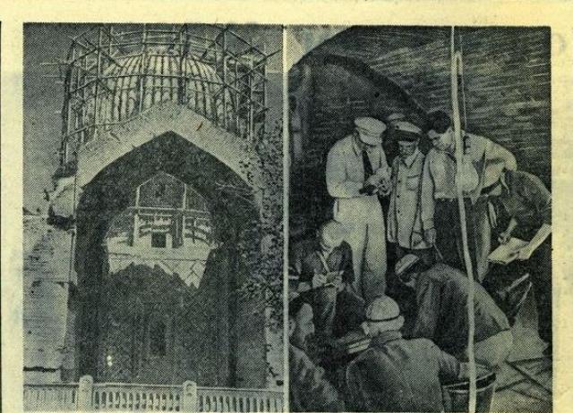 """Рассказывали, что при открытии гроба была обнаружена надпись: """"Кто потревожит мою могилу, откроет путь для более страшных захватчиков, чем я"""". 22-го июня армия Адольфа Гитлера вторглась на территорию СССР."""