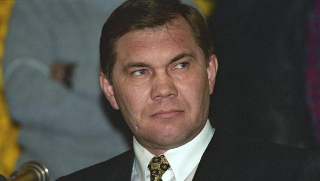 Александр Лебедь (1950-2002) - губернатор Красноярского края.