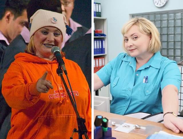 """Светлана Пермякова. Казалось бы, образы актрисы в КВН и роль пухленькой медсестры в сериале """"Интерны"""", вполне устраивают ее."""
