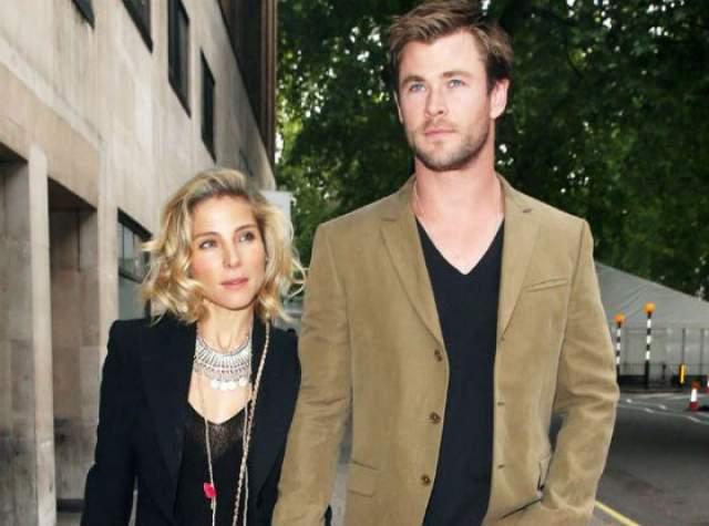 А Крис еще в 2010 году женился на модели Эльзе Патаки.