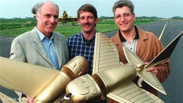 """Дельтовидное крыло и высокая вертикальная плоскость хвостового оперения перекочевали в авиаконструкторское бюро фирмы """"Локхид"""", которая вскоре и создала сверхзвуковой самолет, бывший на то время лучшим в мире."""