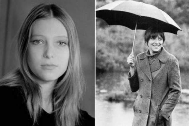 """Примечательно, что в последней роли в киноповести """"Послушай, не идет ли дождь..."""" актриса преобразилась в призрака Смерти."""