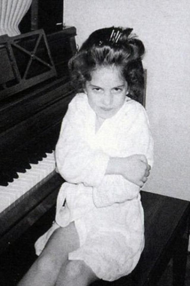 Леди Гага. Девочка была прилежной и дисциплинированной ученицей.