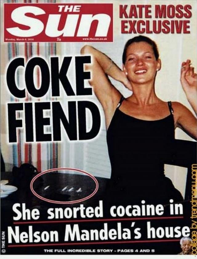 Впрочем, скандальные снимки также привели Кейт на обложки журналов.