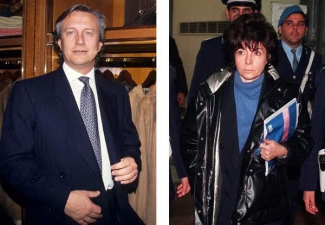 Патриция Реджиани. Жертва: Маурицио Гуччи. 45-летний внук основателя модного дома Гуччио Гуччи был убит на пороге его офиса в марте 1995 года прямо в центре Милана.