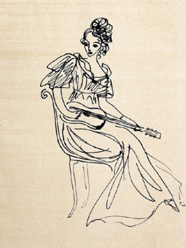 Надя оставила после себя огромное художественное наследие - около 12 000 рисунков. Значительная их часть разошлась в письмах, сотни листов художница подарила друзьям и знакомым, немалое количество работ не вернулось с первых выставок.