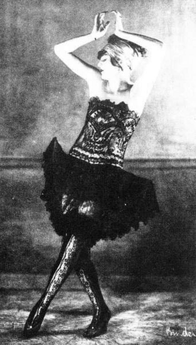В 20-е годы в Берлине на небосклоне взошла эпатажная звезда Аниты Бербер, танцовщицы и актрисы немого кино.