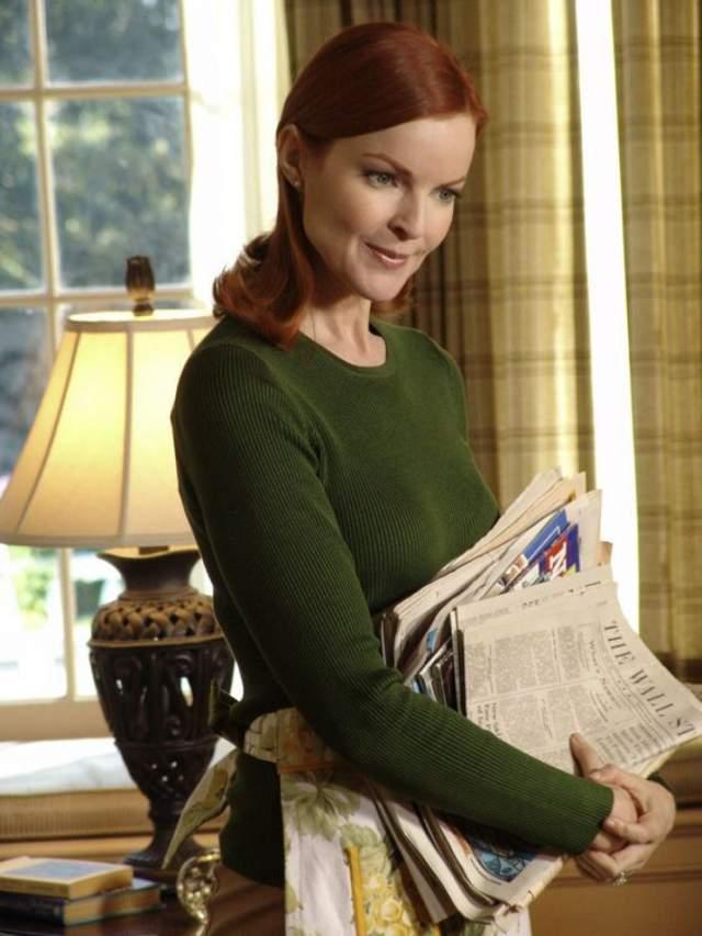"""В 2004 году у множества других актрис она выиграла роль Бри Ван де Камп в сериале """"Отчаянные домохозяйки""""."""