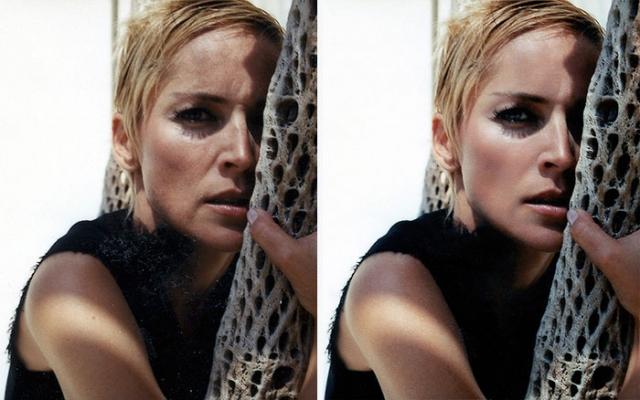 """Шэрон Стоун. Фото дам в возрасте, таких как эта прекрасная актриса, чаще всего нещадно """"заглаживают""""."""