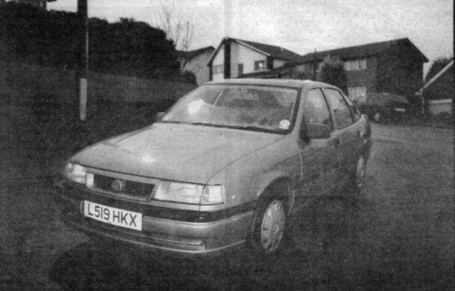 14 февраля Эдвардс получил парковочный билет на станции технического обслуживания Северн Вью, и 17 февраля работающий автомобиль был найден у моста Северн (который был известным местом самоубийств).