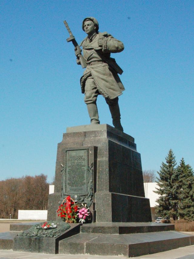Александр был похоронен в городе Великие Луки.