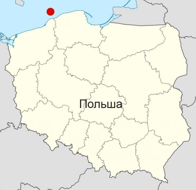 Немецкий лайнер был обнаружен вечером 9 февраля.