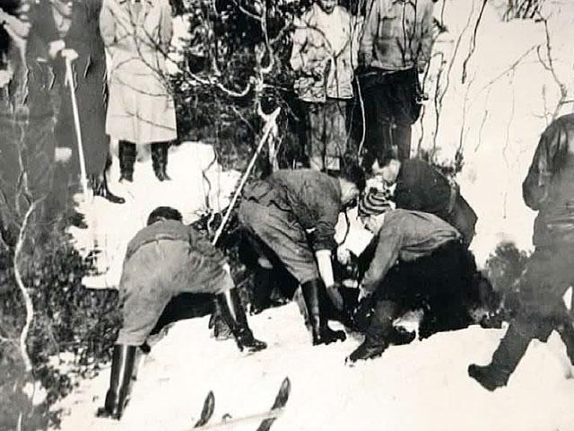 Однако следы лавины не были обнаружены участниками поисков, а лыжные палки, заглубленные в снег для крепления палатки, остались на месте. Также остались целы и непрочные предметы в палатке.