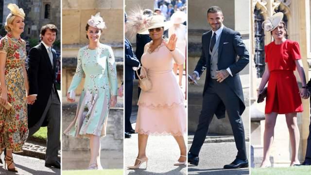 Не обошлось бракосочетание и без звездных гостей. На закрытой вечеринке королевской четы были замечены Джордж и Амаль Клуни, Виктория и Дэвид Бекхэм, Серена Уильямс и Алексис Оганян и другие знаменитости.