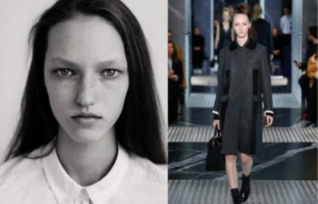 Лиза Останина (19) 16-и летняя девочка из Ижевска закрывала кутюрный показ Christian Dior Haute Couture - это ли не повод для разговоров на Неделе Моды?