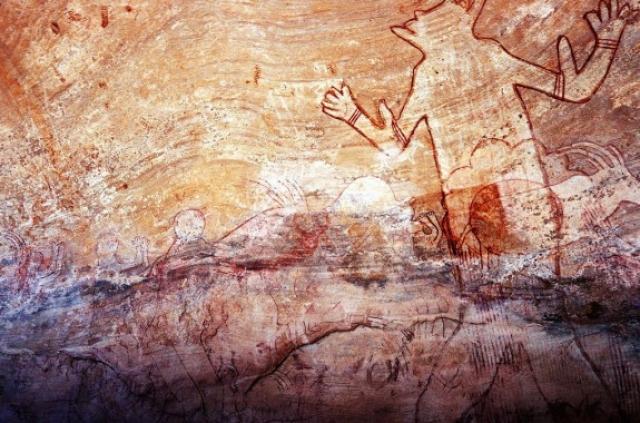 Возраст изображения - примерно 5 000 лет.