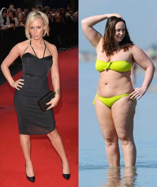 """Шанель Хэйес, 30 лет. Британская звезда за 14 месяцев сменила 8 размер одежды на 16. Все из-за несчастной любви, как сказала сама звезда шоу """"Большой брат""""."""