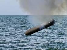 Пуск уникальных ныряющих ракето-торпед