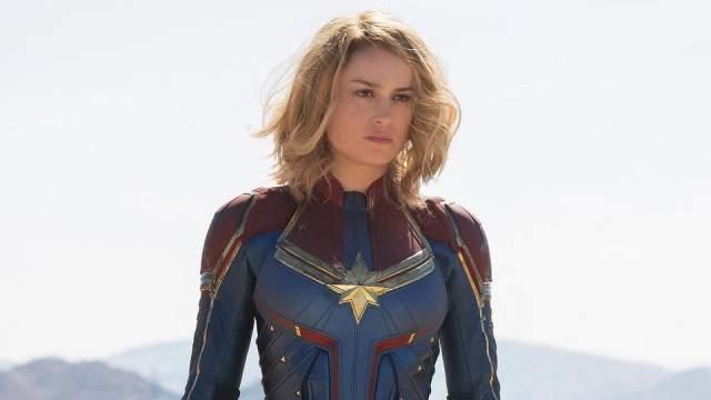 """Бри Ларсон - Капитан Марвел Назначение Ларсон на роль было очевидным, особенно после того, какпродюсеры по достоинству оценили ее роль в фильме """"Комната"""""""