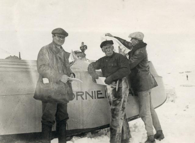 Куда исчез Руаль Амундсен и его четыре компаньона до сих пор неизвестно. Последняя экспедиция по поиску полярника проводились в 2009 году, но ни к чему не привели.