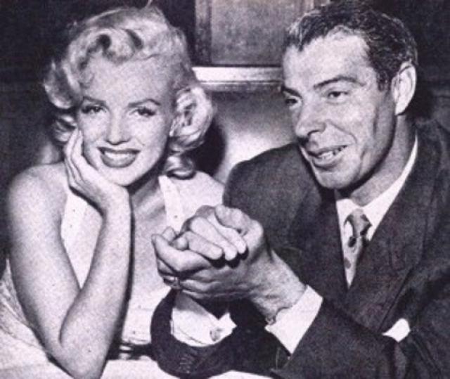 Вторым мужем легендарной Мэрилин был экс-бейсболист Джо Ди Маджо .