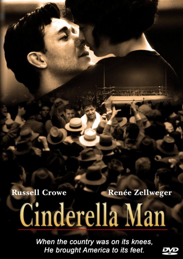 """""""Нокдаун"""" . Название фильма режиссера Рона Ховарда """"Cinderella Man"""" дословно мог бы быть переведен как """"Мужчина-Золушка""""."""