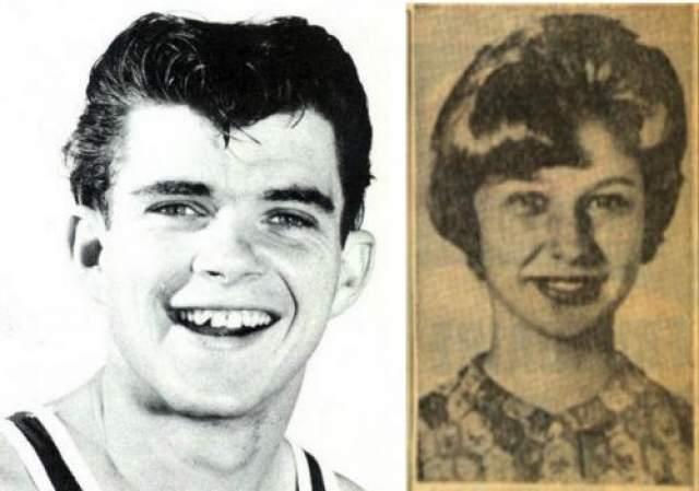 31 мая 1964-го года подруга Шмида по имени Мэри Френч и ее друг Джон Сондерс познакомили его с 16-летней Эйлин Роу. Через некоторое время Шмид изнасиловал Роу, а потом забил ее до смерти, и сбросил тело с высокого утеса. Затем Френч и Сондерс помогли ему похоронить тело убитой. Юный Шмид и Эйлин Роу