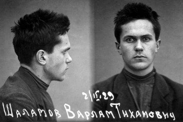 """Уже 22 июня 1943 года его опять осудили на десять лет за антисоветскую агитацию, с последующием поражением в правах на 5 лет, состаоявшую, по словам самого Шаламова, в том, что он назвал Бунина русским классиком: """"Я был осужден в войну за заявление, что Бунин- русский классик""""."""